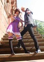 Cosplay-Cover: Yuuki Cross [Violett Dress]