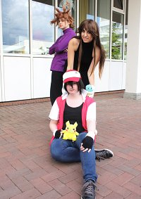 Cosplay-Cover: Blue [Pokemon Special Manga RBY/GSK Arc]