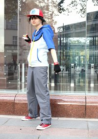 Cosplay-Cover: Ash Unova Version
