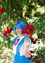 Cosplay-Cover: Rei Ayanami ~Schul Uniform~