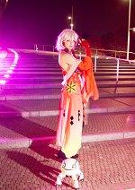 Cosplay-Cover: Yuzuriha Inori ~Battlesuit 1.2~