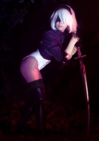 Cosplay-Cover: 2B (no Skirt)