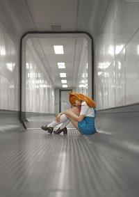 Cosplay-Cover: asuka langley ~Schul uni~