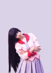 Cosplay-Cover: Hitagi Senjougahara  ~Schul Uni~