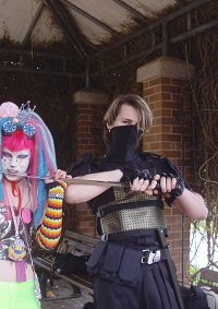 Cosplay-Cover: Cyber Hamster mit orginal SiSeN panty