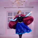 Cosplay: Princess Anna of Arendelle [Winteroutfit]