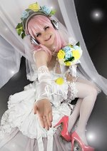 Cosplay-Cover: Super Sonico [Wedding]