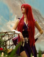 Cosplay-Cover: Erza Scarlet [Robe of  Yūen]