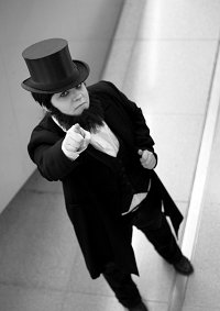 Cosplay-Cover: Abraham Lincoln