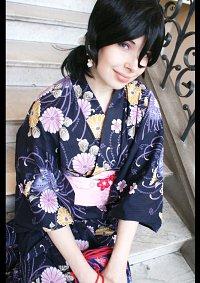 Cosplay-Cover: Kuchiki Rukia (yukata)