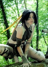 Cosplay-Cover: Camou-Indianer-Chickse