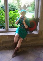 Cosplay-Cover: Kokiri-Link (Ocarina of Time)