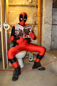 Cosplay-Cover: Deadpool