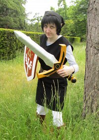 Cosplay-Cover: Schatten Link (Four Swords)