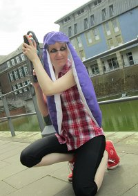 Cosplay-Cover: Inkling Girl (lila)