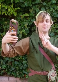 Cosplay-Cover: Link (Wildnis Rüstung)