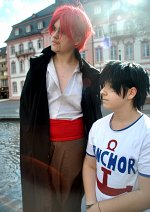 Cosplay-Cover: Monkey D. Luffy [Child]