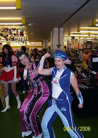 Cosplay-Cover: Freddi Faulig/Robby Rotten [Lazy Town]
