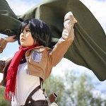 Cosplay: Mikasa Ackerman ミカサ・アッカーマン [ Scouting Legion ]