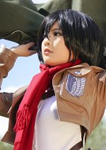 Cosplay-Cover: Mikasa Ackerman ミカサ・アッカーマン [ Scouting Legion ]