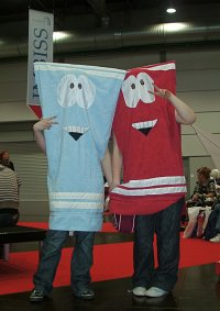 Cosplay-Cover: Towelie