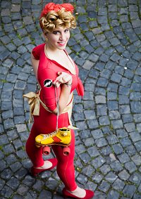 Cosplay-Cover: Jesse Quick (DC Bombshells by Ant Lucia)