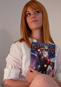 "Cosplay-Cover: Virginia ""Pepper"" Potts [Avengers]"