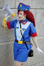 Cosplay-Cover: Musashi / Jessie (Officer Uniform)