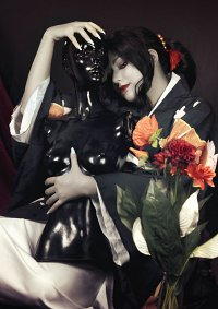 Cosplay-Cover: Muzan Kibutsuji [female]