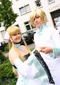Cosplay-Cover: Fye [Clamp 3D]