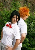 Cosplay-Cover: Kuchiki Rukia [Schuluniform - Sommer]
