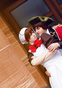 Cosplay-Cover: Chibi-Romano (Maid-Dress)
