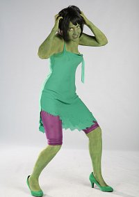 Cosplay-Cover: Lady Hulk