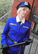 Cosplay-Cover: Arthur Kirkland (Polizei!England)