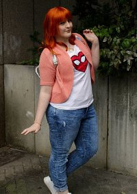 Cosplay-Cover: Mary Jane *MJ/ Iron Spider* Watson 🌸 Avengers Acad