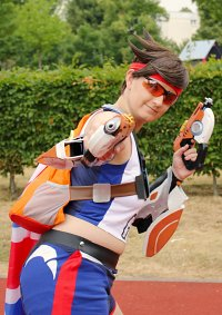 Cosplay-Cover: Tracer *Track and Field-Skin*