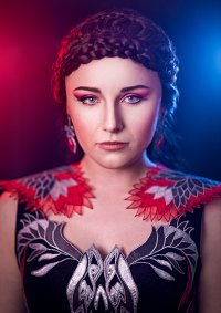 Cosplay-Cover: Katniss Everdeen (Capitol Party Dress)