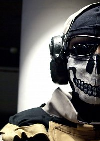 """Cosplay-Cover: Simon """"Ghost"""" Riley (Call of Duty)"""