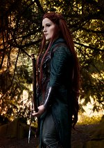 Cosplay-Cover: Tauriel (Spider Battle Dress)