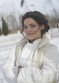 Cosplay-Cover: Leia Organa [Hoth]