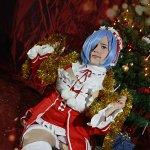 Cosplay: Rem (Christmas)