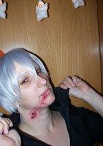 """Cosplay-Cover: Ichimaru Gin (FanArt) as """"Bitten by a Kyuketsuki"""""""