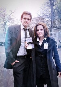 Cosplay-Cover: Dana Scully