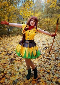 Cosplay-Cover: Sonnenblumen-Prinzessin Saleia (Travel)