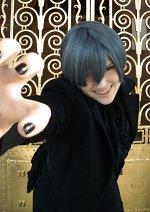 Cosplay-Cover: Ciel Phantomhive ♚ Dämon [Anime, Season II]