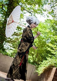 Cosplay-Cover: Nura Rikuo (Kimono Goldregen)