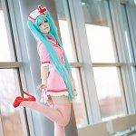 Cosplay: Miku Hatsune ~ Love Colored Ward ~