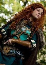 Cosplay-Cover: Warcraft Dwarf Merida