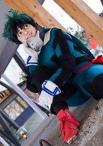 """Cosplay-Cover: Izuku """"Deku"""" Midoriya (Hero Suit Beta)"""