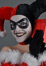 Cosplay-Cover: Harley Quinn (Christmas Version)